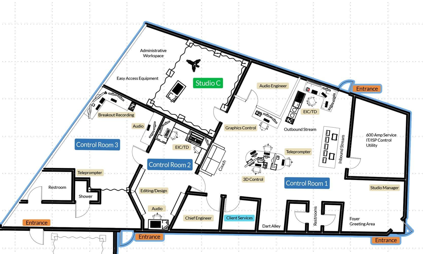 virtual production hub studios ice9